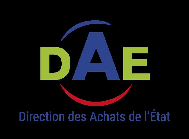 Logo direction des achats de lEtat DAE